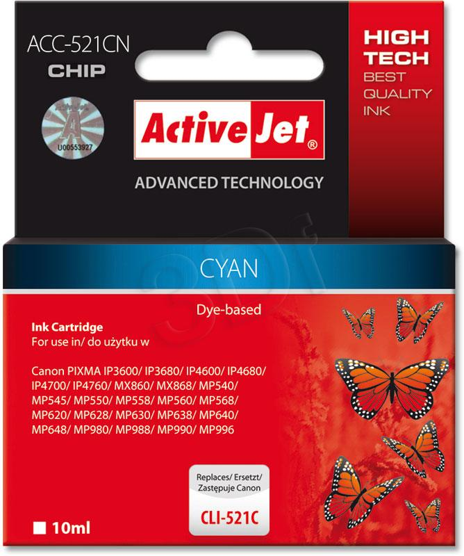 ActiveJet ACC-521CN - cyan