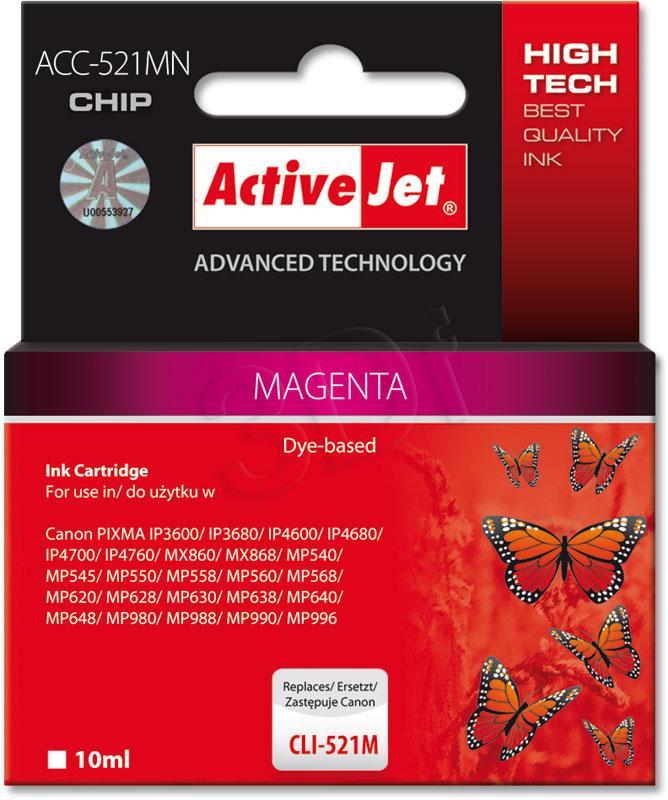 ActiveJet ACC-521MN - magneta