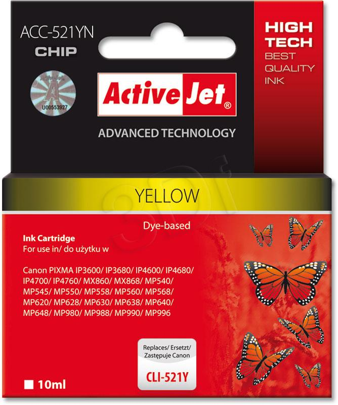 ActiveJet ACC-521YN - yellow