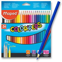 Maped - Pastelky color peps 24 ks