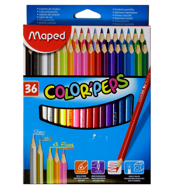 Maped - Pastelky color peps 36 ks