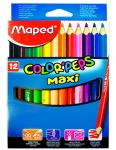 Maped - Pastelky color peps 12 ks maxi