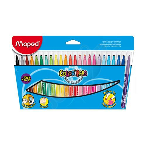 Maped - Fixy Color Peps 24 ks