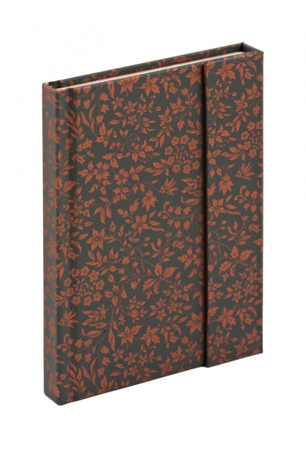 PRESCO - Notes A-0616 Bronzy Flowers Magnetic 10,5 x 15,8