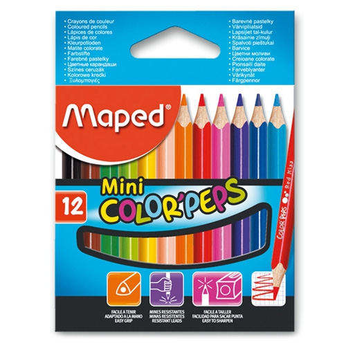 Maped - Pastelky Color Peps MINI 12ks