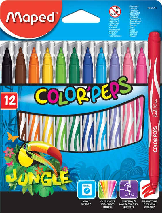 Maped - Fixy Color Peps JUNGLE 12 ks