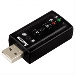 USB zvuková karta, 7.1 surround